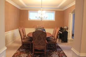 dining room simple dining room chair rail paint ideas home