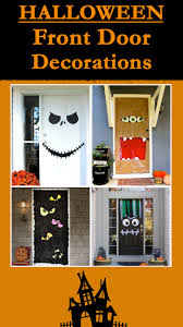 halloween front door decorations ideas with tutorials halloween