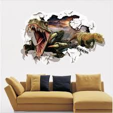 deco chambre dinosaure chambre stickers muraux décoration murale dinosaures amovibles