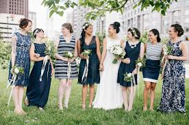 mix match bridesmaid dresses how to create a look with mixed bridesmaid dresses