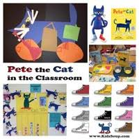Pete The Cat Classroom Decorations Cats Dogs And Pets Preschool Activities And Games Kidssoup