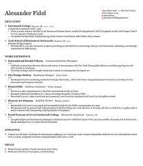 harvard resume template business resume template harvard