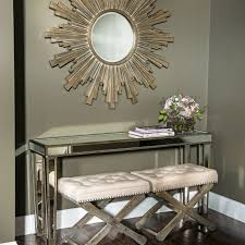 Mirror Console Table Mirrored Console Tables As Functional Decorative Items We Bring