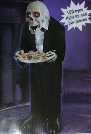 scary halloween videos new 3 ft animated talking greeter scary skeleton butler halloween