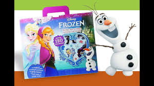 disney frozen activity book elsa anna olaf sticker book kids