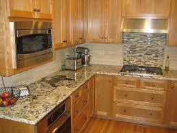 kitchen backsplash with granite countertops kitchens with granite countertops and tile backsplash saomc co