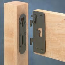 locking safety bed rail brackets