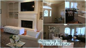 furnished foyer living room tour youtube