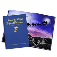 the personalized children u0027s u0027twas the night before christmas book