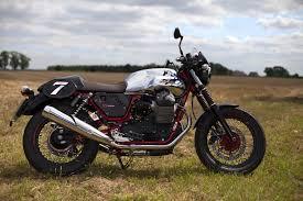 moto first ride moto guzzi v7 ii racer visordown