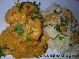 agneau korma cuisine indienne recettes de korma