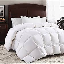 amazon com luxurious 1200 thread count goose down comforter