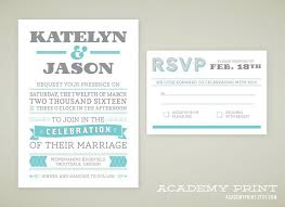 printable wedding invitation and rsvp set for multnomah suite