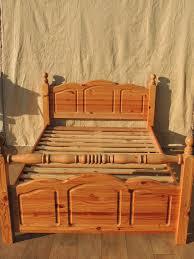 bed frame pine bed frames double pine kingsize bed frame ikea