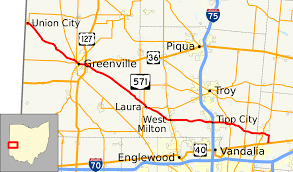 Ohio State Map With Cities by Ohio State Route 571 Wikipedia