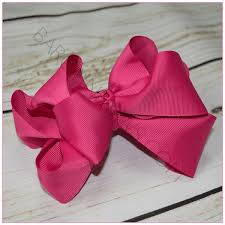 pictures of hair bows stacked basic color 6 inch hair bow bargain bows