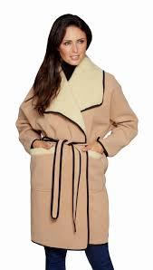 tie belt loose wrap camel coat