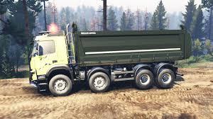 volvo 10 wheeler truck fmx 2014 v2 0 for spin tires
