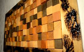 Diy Wood Panel Wall by How To Make A 3d Wall Panel From Reclaimed Wood Diy Project