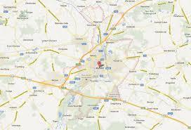 physical map of belgium leuven map