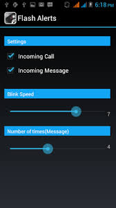 call android flash alerts on call apk for android