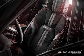porsche black interior porsche macan gets a berserk red and black interior makeover from