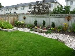 Fence Ideas For Small Backyard Garden Backyard And Garden Design Ideas Simple Landscape Diy