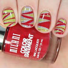 merry christmas eve christmas nail art peachy polish