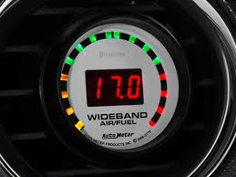wide band auto meter mustang phantom wideband air fuel ratio digital
