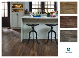 Weathered Laminate Flooring Casual Chic Kitchen Floors