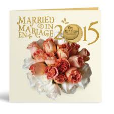 wedding gift amount canada 2015 wedding gift set royal canadian mint coins