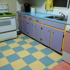 Purple Canisters For The Kitchen Calgary Couple Recreates Their Very Own U0027simpsons U0027 Kitchen
