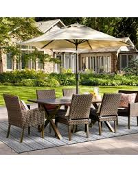 7pc Patio Dining Set Don T Miss This Bargain Halsted 7pc Patio Dining Set Charcoal