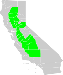 California Map Outline File California Central Valley County Map Svg Wikimedia Commons