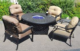 Patio Table With Firepit by Propane Patio Fire Pit Table Home Design Ideas And Pictures