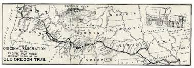 map of oregon mo from missouri to oregon highlights of the oregon trail traveled
