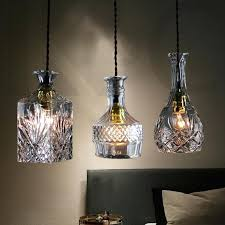 Wine Glass Pendant Light Wine Bottle Pendant Light Uk New Arrival Glass Dining Room
