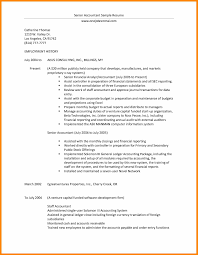 professional resume for accountant hlwhy entry level resume