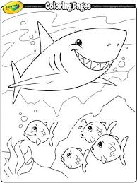 Coloring Page Of A Shark Coloring Page Jaws Pages Shark Sharks Coloring Pages Sharks Printable