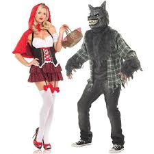 Red Riding Hood Halloween Costumes Red Riding Hood Wolf Love Costumes