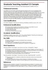 cv templates for teaching assistants epic resume teacher assistant sle with additional teaching
