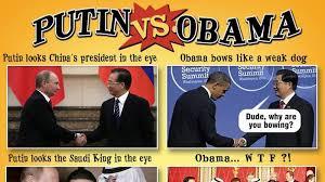 Obama Putin Meme - putin vs obama brilliantly compared in 10 brutal pictures