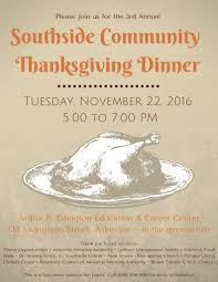 green opportunities 3rd annual southside community thanksgiving