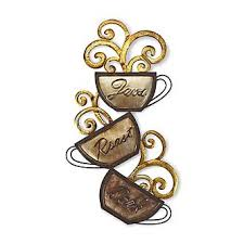 Elements Metal Wall Hanging Coffee Home Home Decor Wall