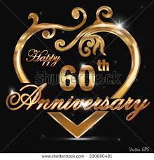 60 year wedding anniversary 60th wedding anniversary stock images royalty free images