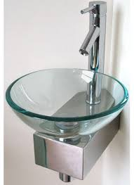 wall mount glass sink small wall mounted glass basin and even when a glass small small