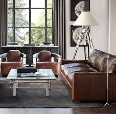 restoration hardware maxwell leather sofa restoration hardware maxwell leather sofa living room pinterest