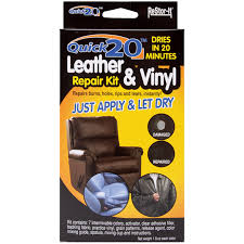 How To Repair Leather Chair Tear Quick 20 Leather U0026 Vinyl Repair Kit