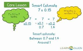 multiply decimals by whole numbers by using an area model