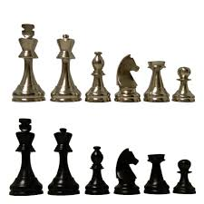 Staunton Chess Pieces by 4 1 2